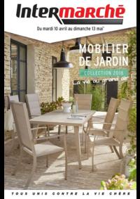 Prospectus Intermarché Super : Mobilier de jardin collection 2018
