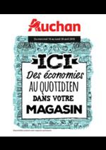 Prospectus Auchan : Ici des économies au quotidien dans votre magasin II