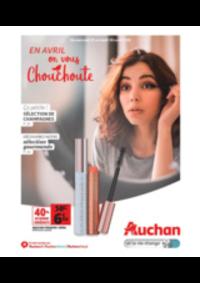 Prospectus Auchan PUTEAUX : En avril on vous chouchoute