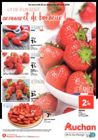 Prospectus Auchan Vélizy : La vie a un goût de fraise et de bonheur !