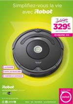 Promos et remises Pulsat : 20€ d'économies sur l'aspirateur iRobot