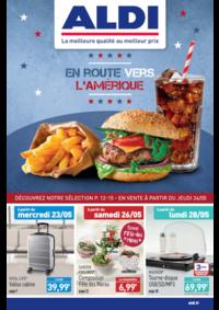 Prospectus Aldi Asnières-sur-Seine : En route vers l'Amérique