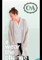 Catalogues et collections C&A : Pour une mode plus durable