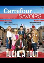 Prospectus Carrefour : Savoirs: TUCHE à tout
