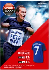 Prospectus Sport 2000 : Coupe du Monde et Fête des Pères