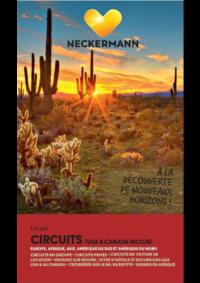 Prospectus Neckermann Anderlecht : Circuits (USA&Canada inclus) Eté 2018