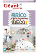 Promos et remises  : BRICO: Les belles inspirations Déco