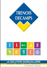 Catalogues et collections Trenois Decamps Goussainville : Catalogue 2018