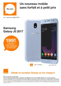 Prospectus Orange : Un nouveau mobile sans forfait et à petit prix