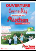 Prospectus Auchan Supermarché : Ouverture Cormeilles