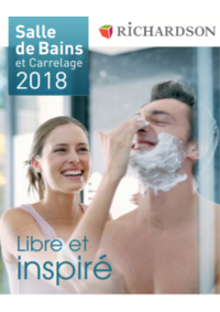 Catalogues et collections Richardson ARGENTEUIL : Salle de bains et carrelage 2018