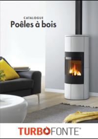 Catalogues et collections Turbo fonte Rouen : Poêles à bois