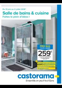 Prospectus Castorama : Salle de bains & cuisine