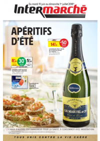 Prospectus Intermarché Super Montmorency : Apéritifs d'été