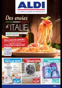 Prospectus Aldi Brie-Comte-Robert : Des envies d'Italie