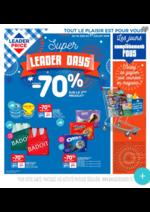 Prospectus Leader Price : les super leader days