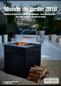 Prospectus Do it + Garden Bern - Marktgasse Fachmarkt : Monde du jardin 2018