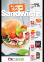 Prospectus Promocash : Spécial Sandwichs du 14 au 23 juin 2018