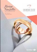 Promos et remises  : Collection bijoux 2018 Mariages et fiancailles