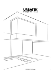 Prospectus Porcelanosa SAINT GREGOIRE RENNES : Outdoor tiles Urbatek