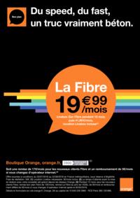 Prospectus Boutique Orange THIAIS : La fibre à 19.99€