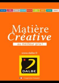 Prospectus Dalbe MONTREUIL : Matière Créative