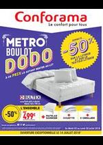Prospectus Conforama : Metro Boulot Dodo