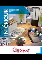 Prospectus Gedimat : Catalogue Intérieur 2018
