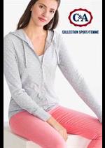 Prospectus C&A : Collection Sport / Femme