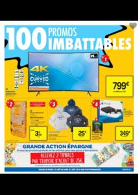 Prospectus Carrefour : 100 promos imbattables