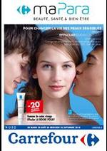 Prospectus Carrefour : Parapharmacie Septembre