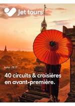 Prospectus Thomas Cook : 40 circuits & croisières