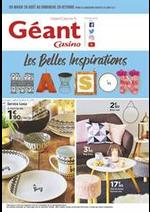 Prospectus Géant Casino : Les belles inspirations Maison