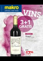 Prospectus Makro : Festival des vins