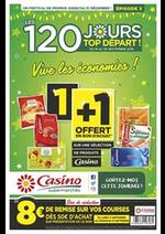 Prospectus Supermarchés Casino : Vive les économies !