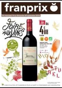 Prospectus Franprix : Foire Aux Vins