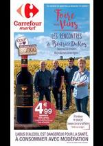 Prospectus Carrefour Market : Foire aux vins les rencontres de Batrice Da Ros