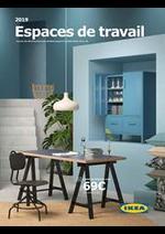 Prospectus IKEA : Espaces de travail 2019