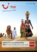Prospectus  : Circuits Accompagnés Collection 2019