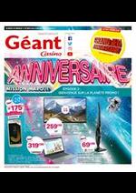 Prospectus Géant Casino : Épisode 2 : Bienvenue sur la planète promo !