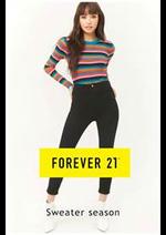 Prospectus FOREVER 21 : Forever 21 Sweater season