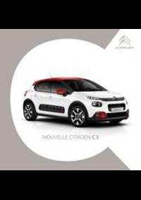 Prospectus Citroen MONTHUREUX SUR SAONE : Citroën C3