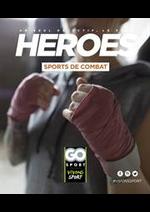 Prospectus Go Sport : Guide Combat