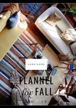 Prospectus ZARA HOME : Flannel for fall