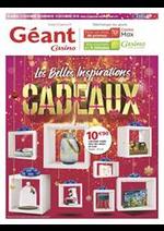 Prospectus Géant Casino : Les belles inspirations Cadeaux