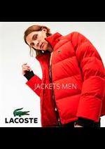 Promos et remises  : Lacoste Jackets Men