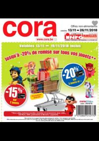 Prospectus Cora HORNU : Jusqu'à 20% de remise sur les jouets