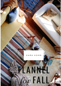 Catalogues et collections ZARA HOME  Woluwe-Saint-Lambert : Flannel for fall