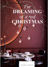 Catalogues et collections ZARA HOME  Woluwe-Saint-Lambert : I'm dreaming of a red christmas