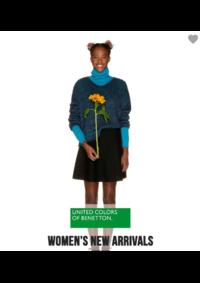 Prospectus United Colors of Benetton Bruxelles - Av Louise  : Women's new arrivals